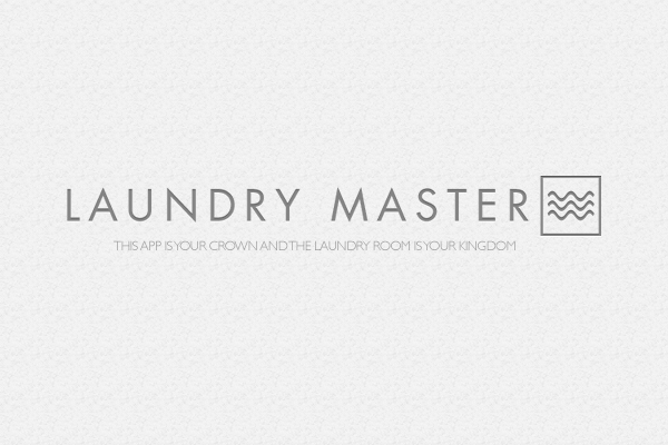 App Concept – Making Laundry Easy