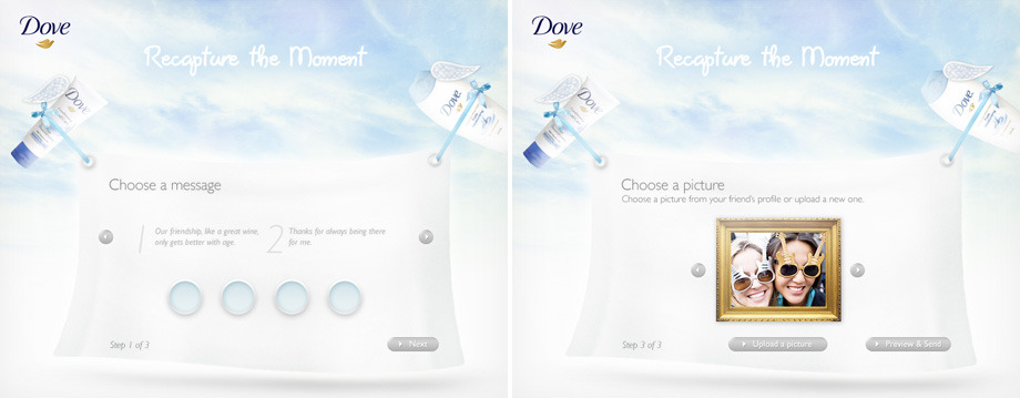 Dove – Living the loving moments